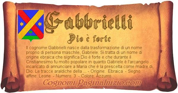 Nome Gabbrielli