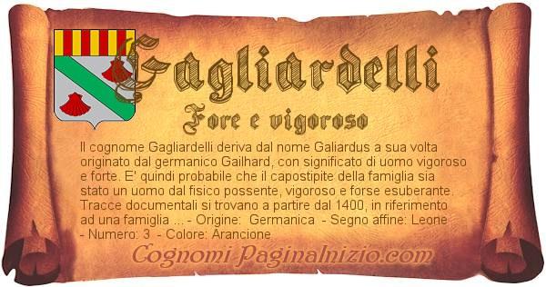 Nome Gagliardelli