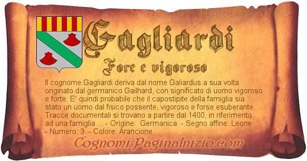 Nome Gagliardi