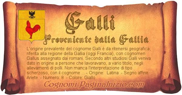 Nome Galli