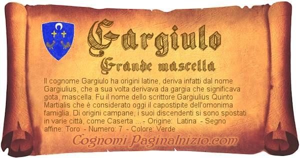 Nome Gargiulo