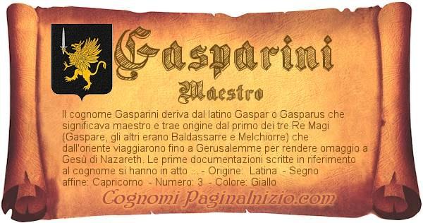 Nome Gasparini