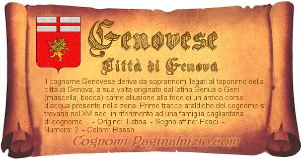Nome Genovese