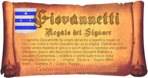 Nome Giovannetti