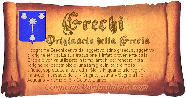 Nome Grechi