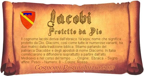 Nome Iacobi