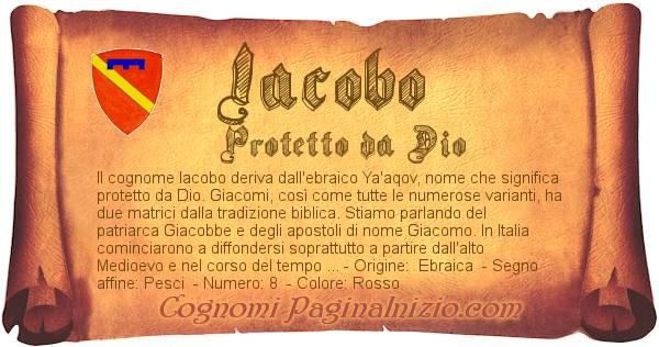 Nome Iacobo