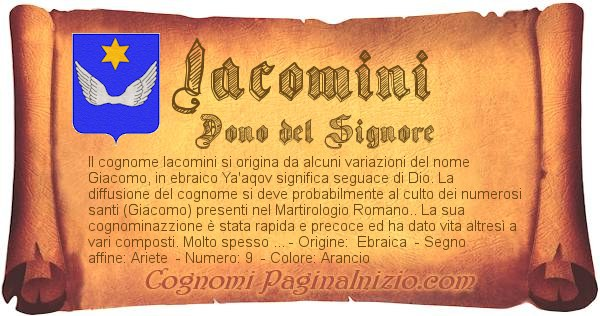 Nome Iacomini