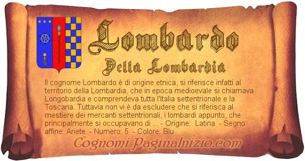 Nome Lombardo