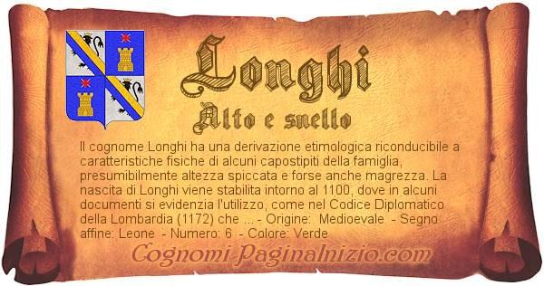Nome Longhi