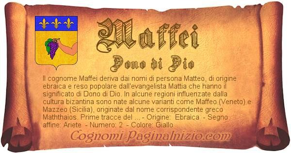 Nome Maffei
