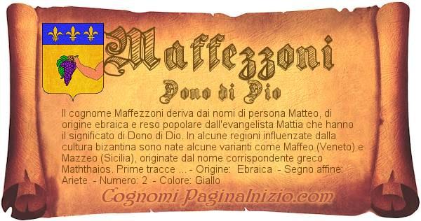 Nome Maffezzoni