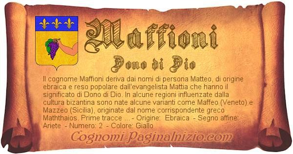 Nome Maffioni