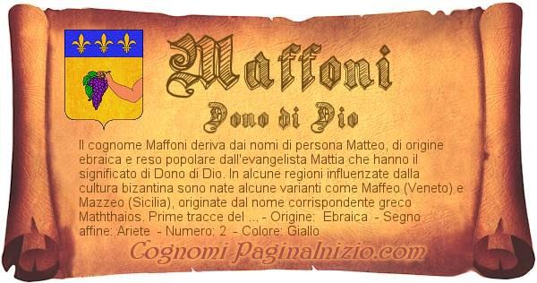 Nome Maffoni