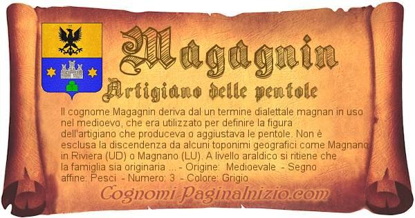 Nome Magagnin