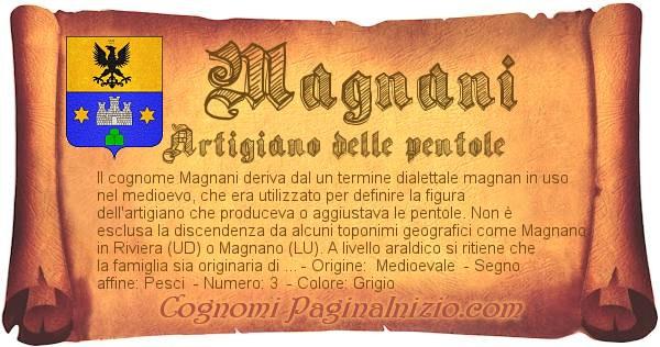 Nome Magnani