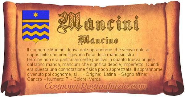 Nome Mancini