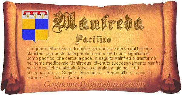 Nome Manfreda