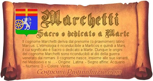 Nome Marchetti