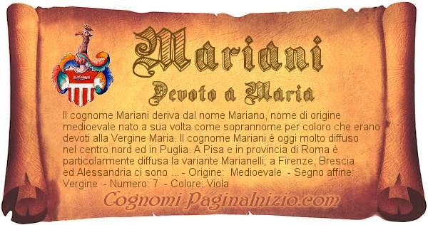 Nome Mariani