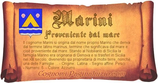 Nome Marini