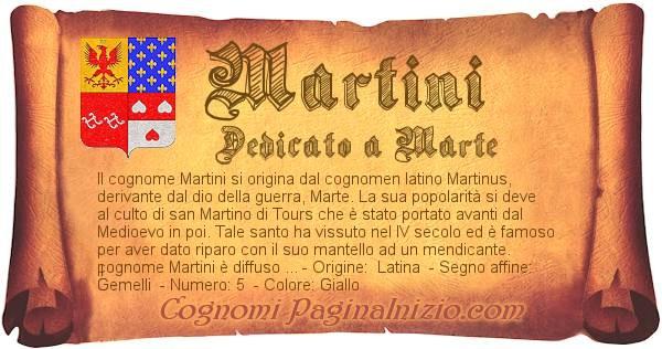 Nome Martini