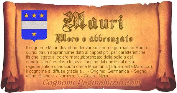 Nome Mauri