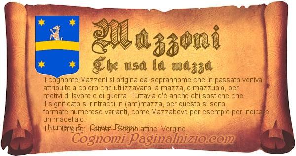 Nome Mazzoni