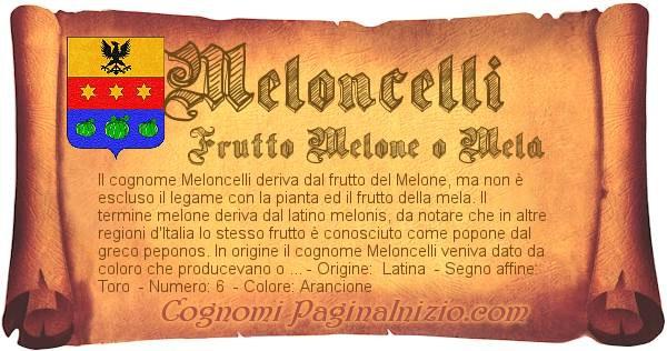 Nome Meloncelli