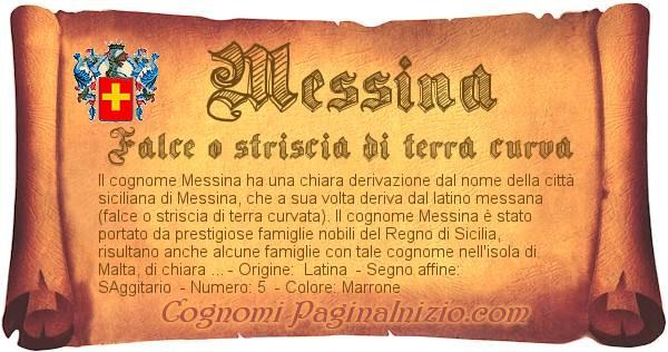 Nome Messina