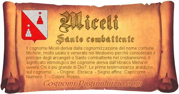 Nome Miceli