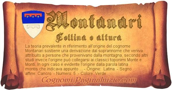 Nome Montanari