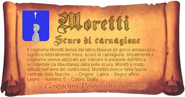 Nome Moretti