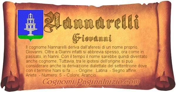 Nome Nannarelli