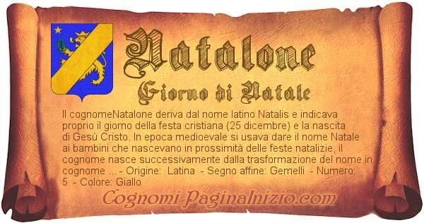 Nome Natalone