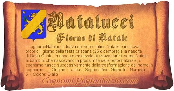 Nome Natalucci