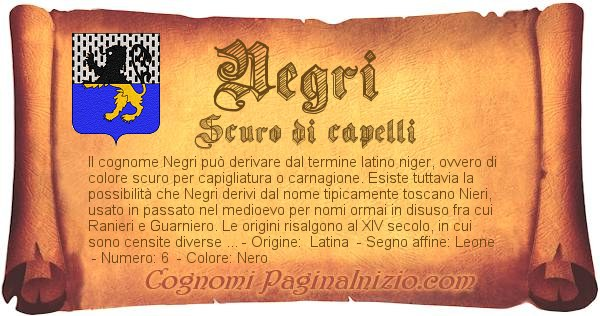 Nome Negri