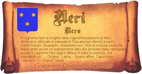 Nome Neri