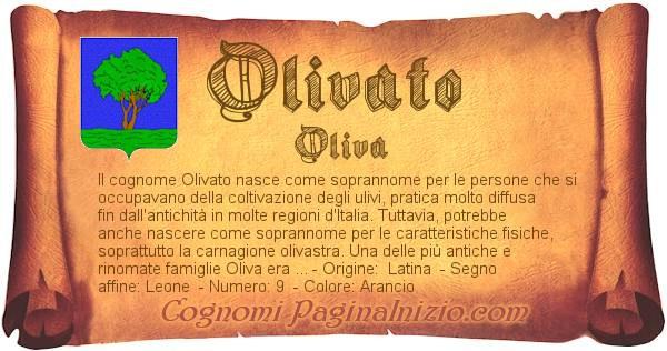 Nome Olivato