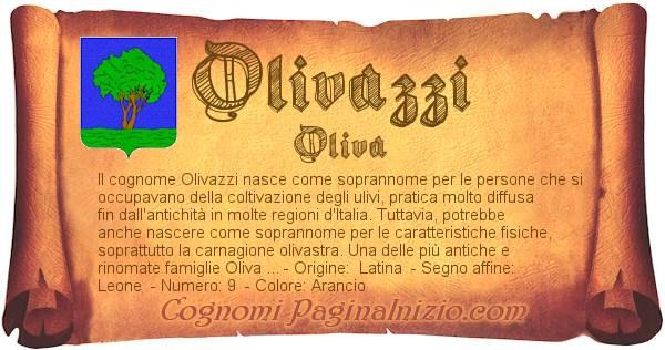 Nome Olivazzi