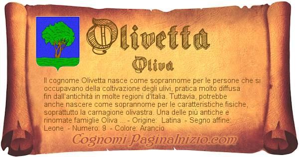 Nome Olivetta