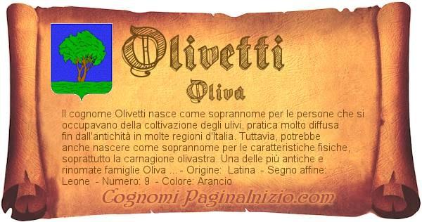 Nome Olivetti