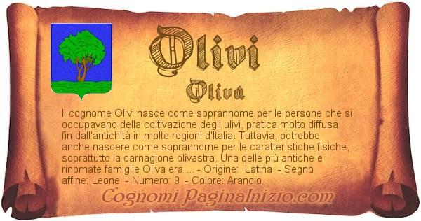 Nome Olivi