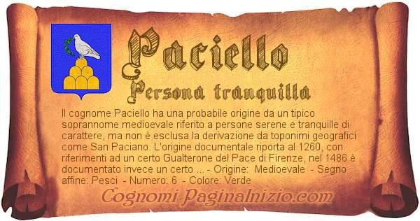 Nome Paciello