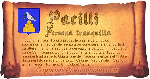 Nome Pacilli