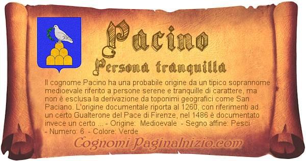 Nome Pacino