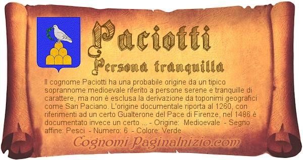 Nome Paciotti
