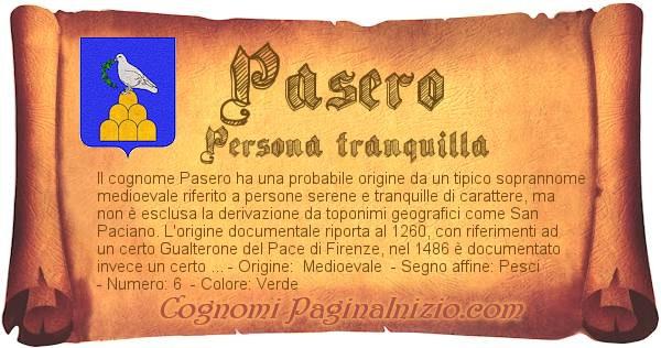 Nome Pasero
