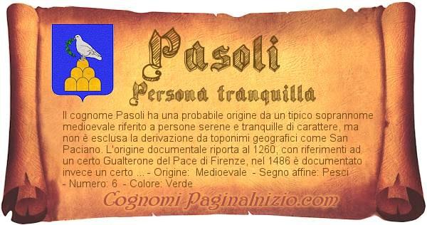 Nome Pasoli