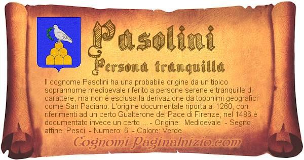 Nome Pasolini